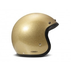 DMD HELMET JET GOLD GLITTER (OUTLET)