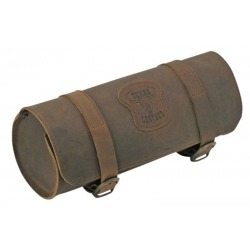 BLACK LEATHER ROLL MATE TEXAS LEATHER 26 CM.