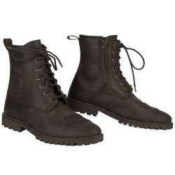 LEATHER BOOTS BY CITY TROTEN