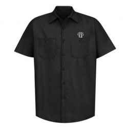 LUCKY 13 BLACK SHORT SLEEVE SHIRT