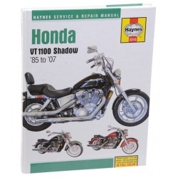 HAYNES HONDA VT 1100 REPAIR MANUAL 85-07
