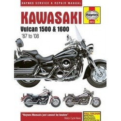HAYNES KAWASAKI VN 1500 REPAIR MANUAL 87-04, 1600 03-08