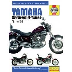 MANUAL REPARACIÓN HAYNES YAMAHA VIRAGO 81-03