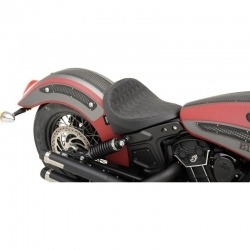 ASIENTO SOLO BOBBER MARRON LISO INDIAN SCOUT 15-18.