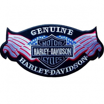 PARCHE HARLEY DAVIDSON GENUINE 27 X 13 CM