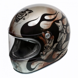 FULL FACE HELMET TROPHY BD TITANIUM