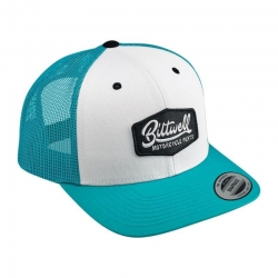 BILTWELL PARTS BLUE / BLACK / WHITE CAP