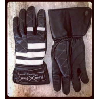 FULL THROTTLE PRISONER LEATHER GLOVES HOLD FAST