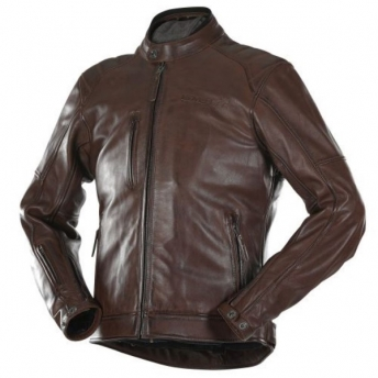HOMOLOGATED BROWN JOHAN OVERLAP JACKET