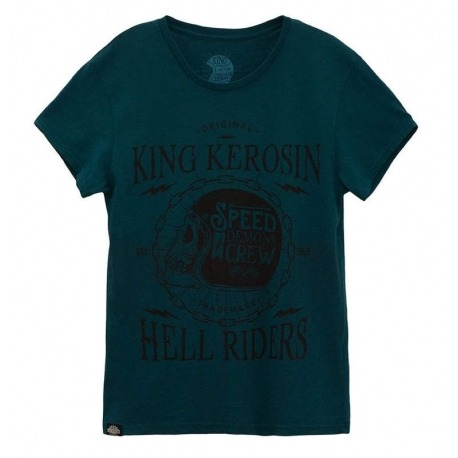 KING KEROSIN SHIRT SPEED DEMONS ATLANTIC BLUE