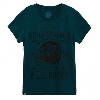 KING KEROSIN SHIRT SPEED DEMONS ATLANTIC BLUE