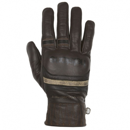HELSTONS BORA BLACK AND GRAY GLOVES
