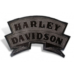 HARLEY DAVIDSON WILLIE BLACK LEATHER PATCH