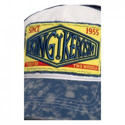 KING KEROSIN TRUCKER CAP SINCE 1955 WHITE/BLUE