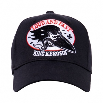 GORRA KING KEROSIN LOUD AND FAST NEGRA