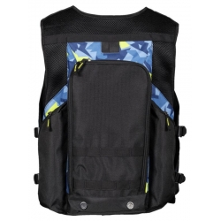 VEST WITH BACKPACK LOUIS TRICOLOR