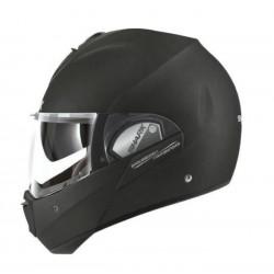 casco-integral-shark-evoline-3-black-metal-mat