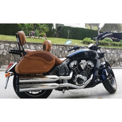 ALFORJAS RIDERS AG-055 REPUJADAS CAMEL INDIAN SCOUT