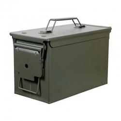 MEDIUM MILITARY BOX BLACK SADDLEBAG