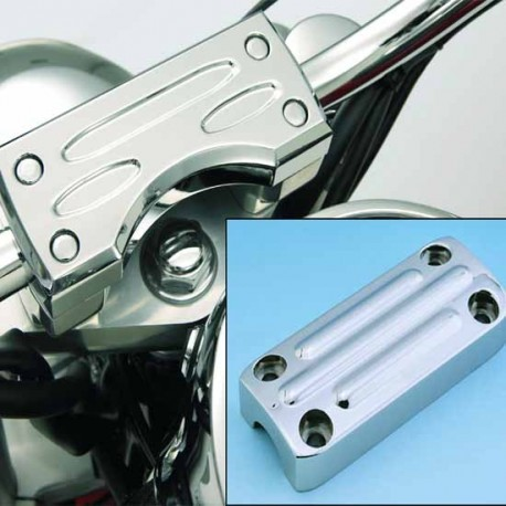 CASTING CLAMP CHROME HANDLEBAR