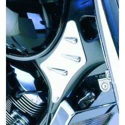 SIDE COVER NECK CHROME FRAME HONDA VT750 ACE '9
