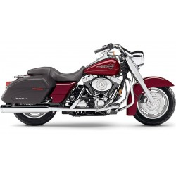 ESCAPE HARLEY DAVIDSON TOURING COBRA SLIP-ONS 1995-UP