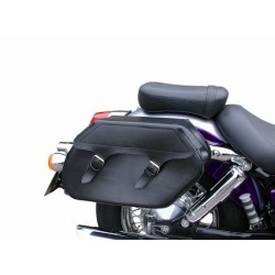 SADDLE WITH HONDA KLICBAG VT750C / C2 SHADOW ACE