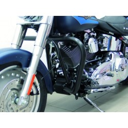 DEFENSA MOTOR 38mm. BLACK SOFTAIL TWIN CAM '07-UP
