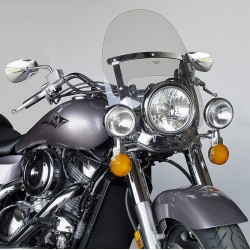 WINDSHIELD KAWASAKI ZN1100 RANGER NATIONAL CYCLES