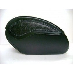 RIDERS SADDLE embossed STRANDED (55Lx31Ax20a CM)