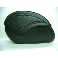 RIDERS SADDLE embossed TRENZADA WIND (50Lx31Ax20a CM)