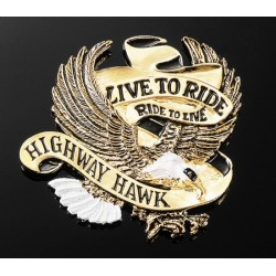 "COVER EAGLE EMBLEM ""LIVE TO RIDE"""