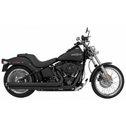 ESCAPE HARLEY DAVIDSON SOFTAIL SUPERTRAPP LONG MEAN MOTHERS BLAC