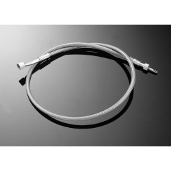 TWISTED STEEL THROTTLE CABLE VN800 KAWASAKI CLAS + 15CM
