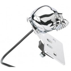 piloto-trasero-skull-con-portamatriculas