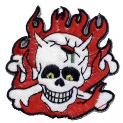 PARCHE DEMON SKULL