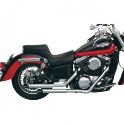 KAWASAKI ESCAPE VN1500D / E VULCAN CLASSIC SLASH-CUT STAGGERED MAC