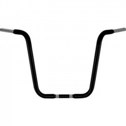 "CHUBBY HANDLE 32MM 16 ""APE HANGERS BLACKOUT"