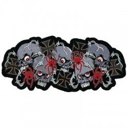 PATCH SKULLS N CROSES