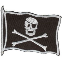 PATCH PIRATE FLAG