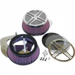 XXX BAK AIR FILTER CHROME HONDA VTX 1300 03-09