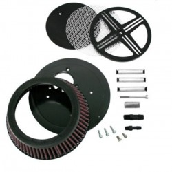 AIR FILTER XXX BAK FURY BLACK HONDA VTX 1300 10-12
