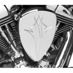 PINSTRIPE CHROME AIR FILTER HONDA VTX1300 Fury 10-UP